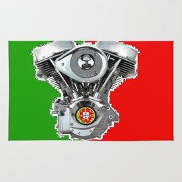 Portuguese Biker flag Rug