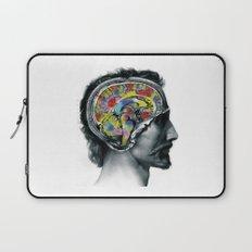 Brain colors fashion Jacob's Paris Laptop Sleeve