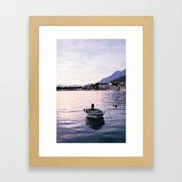 B O A T Framed Art Print