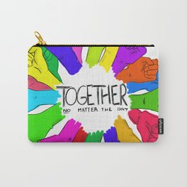 Together no matter the day Carry-All Pouch
