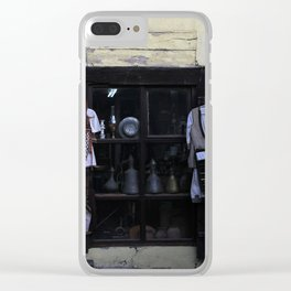 Skopje VII Clear iPhone Case