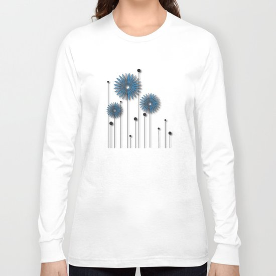 Night Flowers No. 2 Long Sleeve T-shirt