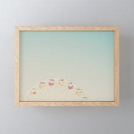 its all a blur ... Framed Mini Art Print