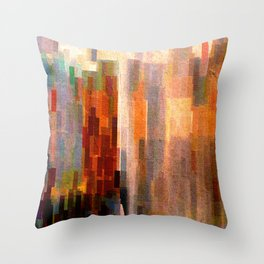 Binnenalster with fountain Throw Pillow