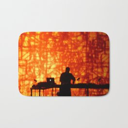 WILD FLAME DEEJAY PROJECTIONS Bath Mat