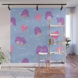 penguins Wall Mural