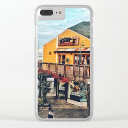 Ordinary day Clear iPhone Case