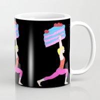balance Mugs featuring Balance by Tyler Spangler