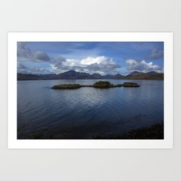 View of the Cuilin Art Print