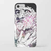 freddy krueger iPhone & iPod Cases featuring Galaxy Robert Englund Freddy Krueger by Cookie Cutter Cat Lady