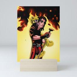 Alice On Fire Mini Art Print