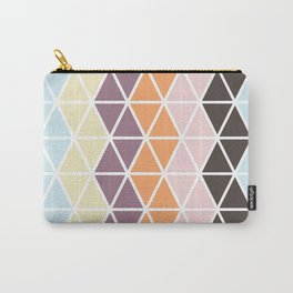 Geo Stripe Carry-All Pouch