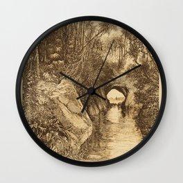 Into The Amazon Wall Clock