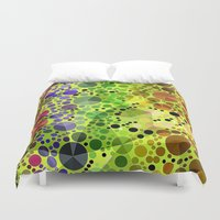 circles Duvet Covers featuring *Circles* by Mr & Mrs Quirynen