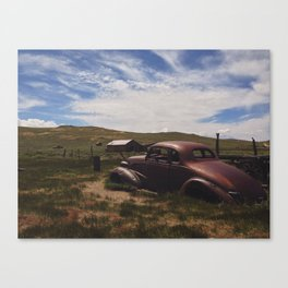 Bodie, Ca 3 Canvas Print