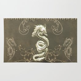 Beautiful chinese dragon Rug