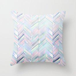 Pastel pattern Throw Pillow