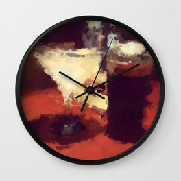 summertime and the livin is easy Wall Clock