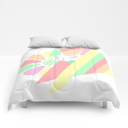 Pastel Melancholy in Spring Comforters