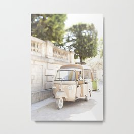 Parisian Tuktuk Metal Print