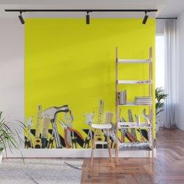 Yellow Tools Wall Mural