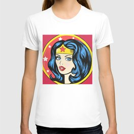 Vintage Wonder Women Emblem  T-shirt