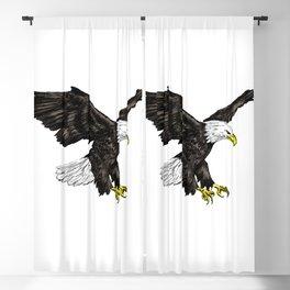 Bald Eagle Image Blackout Curtain