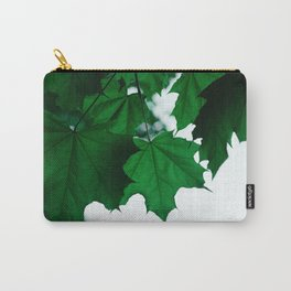 Green Maple Carry-All Pouch