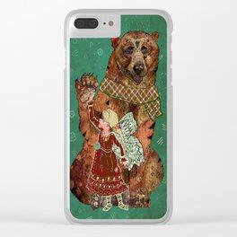 Magic Bearer Clear iPhone Case