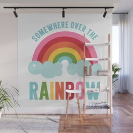 Somewhere Over the Rainbow Wall Mural