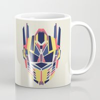 transformer Mugs featuring Prime by Fimbis