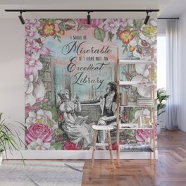 Excellent Library - Pride and Prejudice Wall Mural