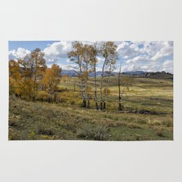 Lamar Valley in the Fall - Yellowstone Rug