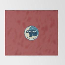 Missouri - Redesigning The States Series Throw Blanket