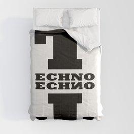 Techno Anagram Comforters