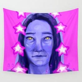 STAR GIRL Wall Tapestry