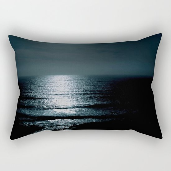 Black water  Rectangular Pillow