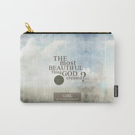 Most Beautiful Thing? Carry-All Pouch