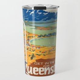 Vintage poster - New Zealand Travel Mug