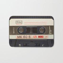 Vintage Music Cassete Bath Mat