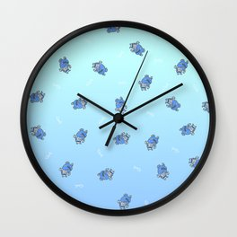 Olympic Cathelete Wall Clock