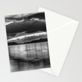 """""""Sunset After The Storm""""  BW Stationery Cards"""