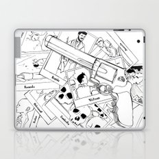 Murderous humanity Laptop & iPad Skin