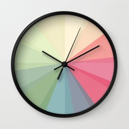 Transparency play Wall Clock