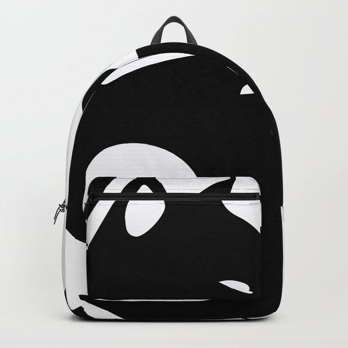 yin yang cats Backpack
