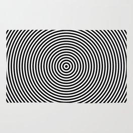 Concentric Circles Rug
