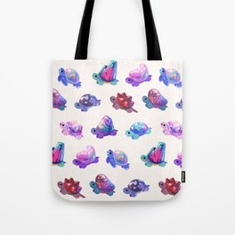 Jewel turtle - pastel Tote Bag