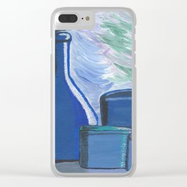 Blue Rhapsody Shadow World Clear iPhone Case