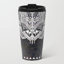 Mandala Tile Galaxy Travel Mug