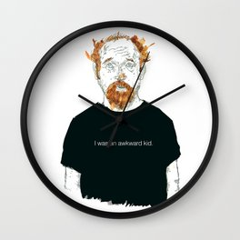 Louis CK… I was an awkard kid… quote Wall Clock